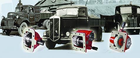 OMFB Hydraulic components 1951